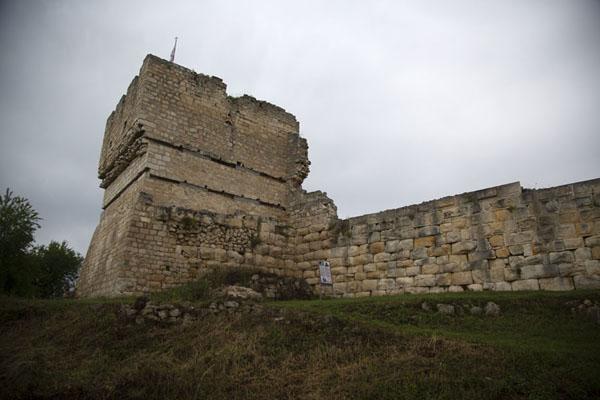 The rectangular Battle tower of Cherven fortress | Fortezza di Cierven | Bulgaria