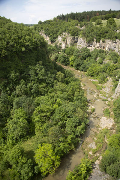 Picture of Emen canyon seen from one of the viewpoints - Bulgaria - Europe