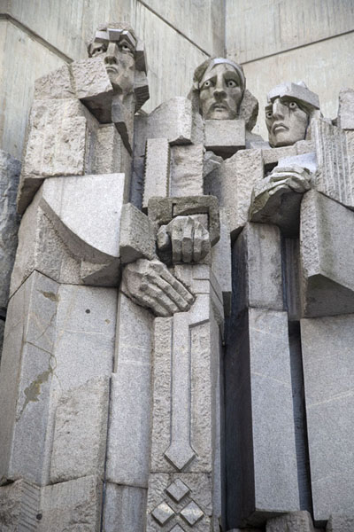 The Boyars, from King Simeon's period | Founders of the Bulgarian State monument | 保加利亚