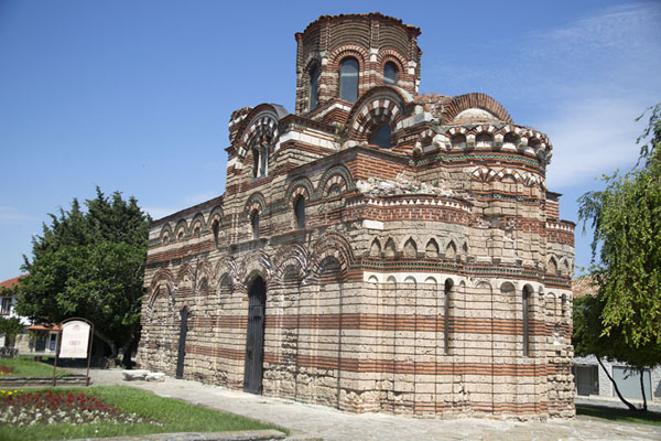 Foto de Full view of the Christ Pantokrator church in NesebarNesebar - Bulgaria