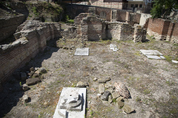 Foto de Ruins of Byzantine thermae in NesebarNesebar - Bulgaria