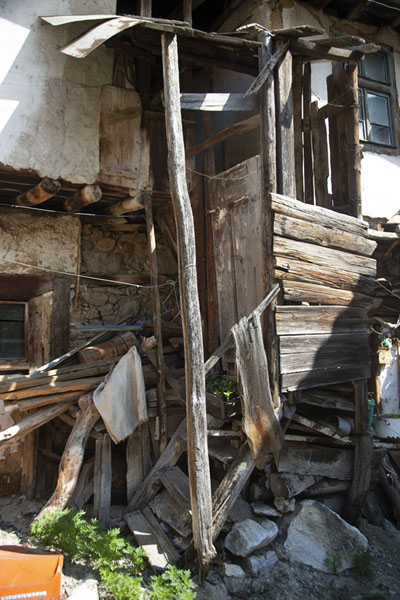 Picture of Entrance of traditional house in PirinPirin - Bulgaria