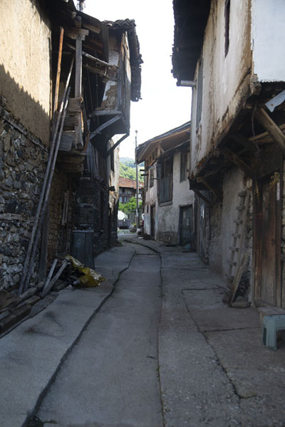 Picture of Narrow street in PirinPirin - Bulgaria