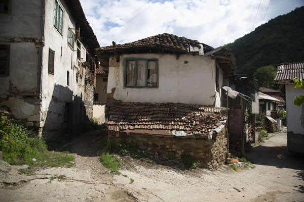Picture of One of the old houses of PirinPirin - Bulgaria
