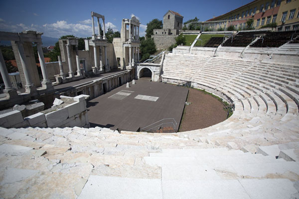 The Roman amphitheatre of Plovdiv - 保加利亚
