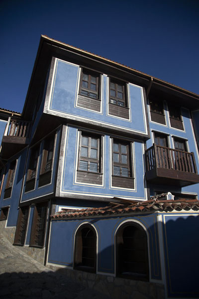 Traditional house in the lower part of the old town of Plovdiv | Cité vieille de Plovdiv | Bulgarie