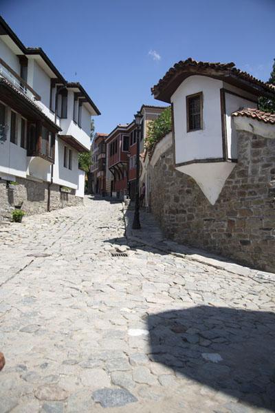 Street leading up to Nebet Tepe in Plovdiv | Plovdiv Old Town | Bulgaria