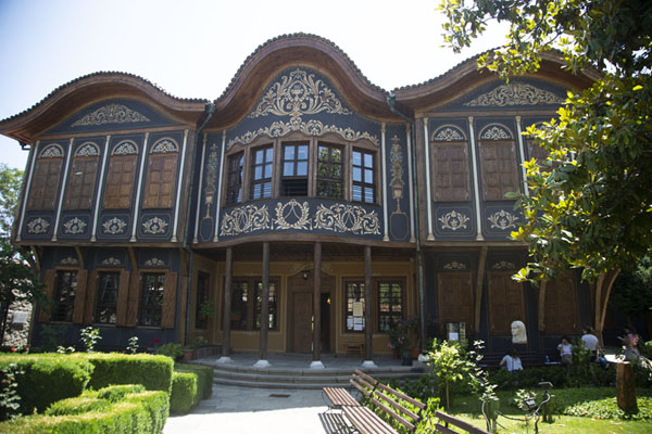 The Regional Ethnographic museum, housed the former mansion of Argir Kuyumdzhioglu | Cité vieille de Plovdiv | Bulgarie