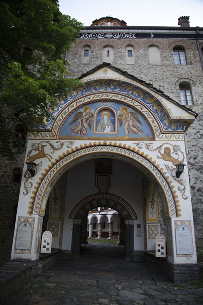 The main entrance of Rila Monastery | Rila Monastery | Bulgaria