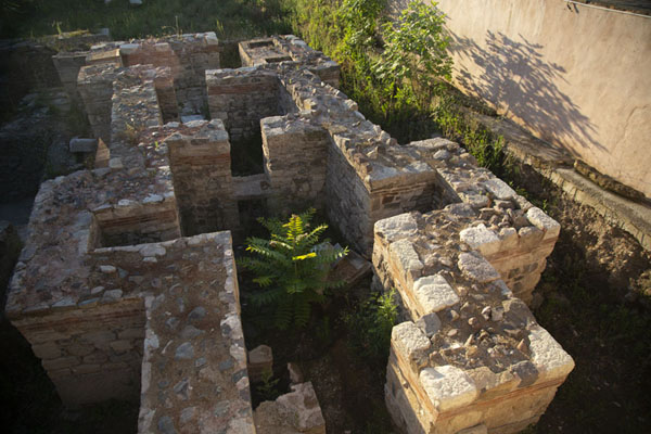 Ruins of church seen from above | Sozopol | Bulgarie