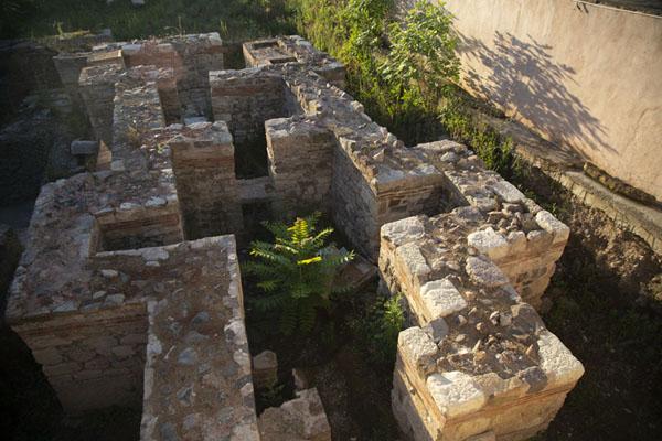 Foto van Ruins of church seen from aboveSozopol - Bulgarije