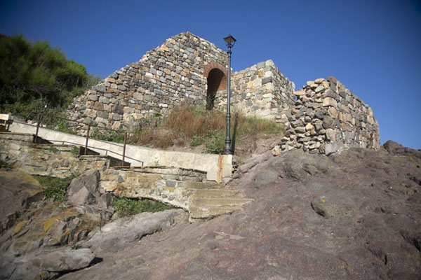 Photo de Ruins of a church on the north side of SozopolSozopol - Bulgarie