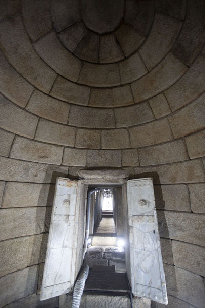 Chamber and corridor in the Tomb of Seuthes III | Thracian tombs | Bulgaria