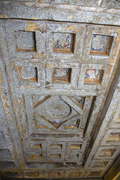 Ceiling in the Ostrusha mound | Thracian tombs | Bulgaria
