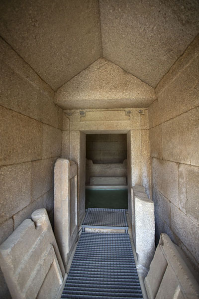 The corridor in the Griffins Thracian tomb | Thracian tombs | Bulgaria