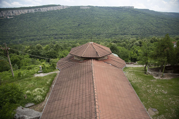 View from the bell-tower of the monastery | Monastère de la Transfiguration | Bulgarie