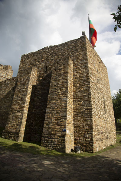 One of the remaining fortifications of the Royal Palace | Tsarevets Fortress | Bulgaria
