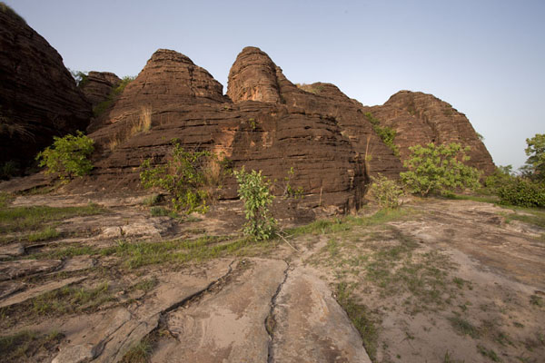 View of the domes of Fabedougou | B�vedas de Fabedougou | Burkina Faso