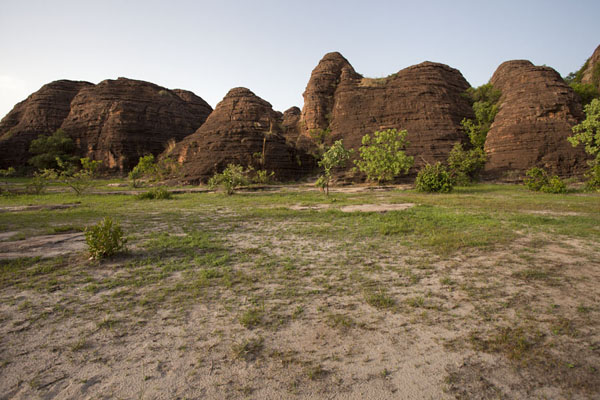 Domes of Fabedougou in the late afternoon - 布基纳发首 - 非洲