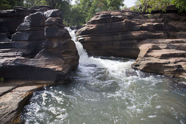 Natural jacuzzi on the upper part of Karfiguela | Karfiguela waterfalls | Burkina Faso