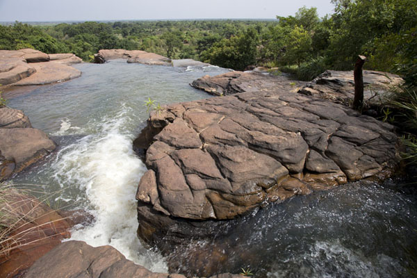 One of the many rapids and small waterfalls of Karfiguela | Karfiguela waterfalls | Burkina Faso