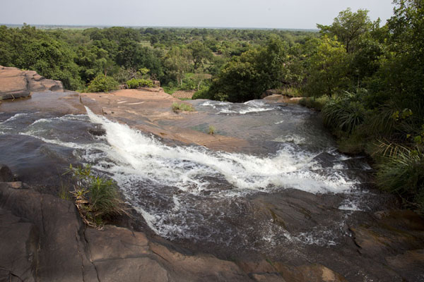 Looking down Karfiguela falls | Karfiguela waterfalls | Burkina Faso