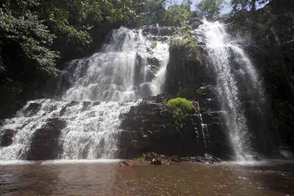 The main waterfall of the Karera group of waterfalls | Chutes de la Karera | Burundi