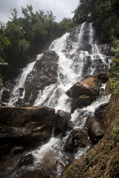 One of the waterfalls of the Chutes de la Karera | Chutes de la Karera | Burundi