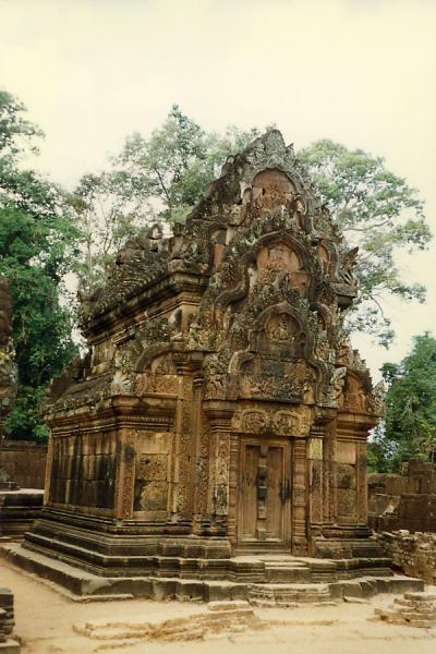 Picture of One of the many small temples scattered around the extensive area of Angkor Wat