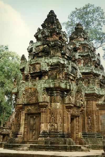 One of the many temples of Angkor Wat | 吳哥 | 高棉