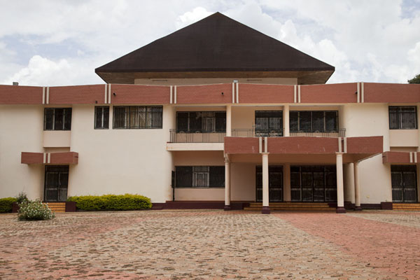 The modern palace of the sultan | Bandjoun chefferie | Cameroon