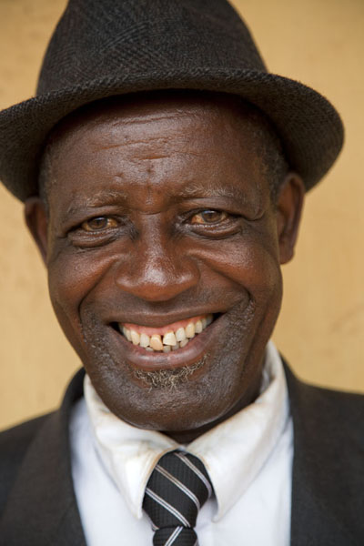 Foto di Posing with a smile - a true gentleman in Nkombe - Camerun - Africa