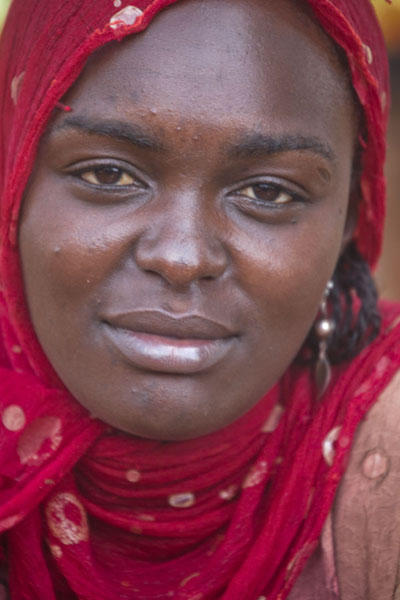 Lady at the market of Foumban - 喀麦隆