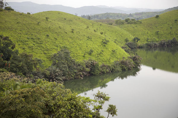 Part of Lake Wum in the afternoon | Grassfields Ring Road | Cameroon