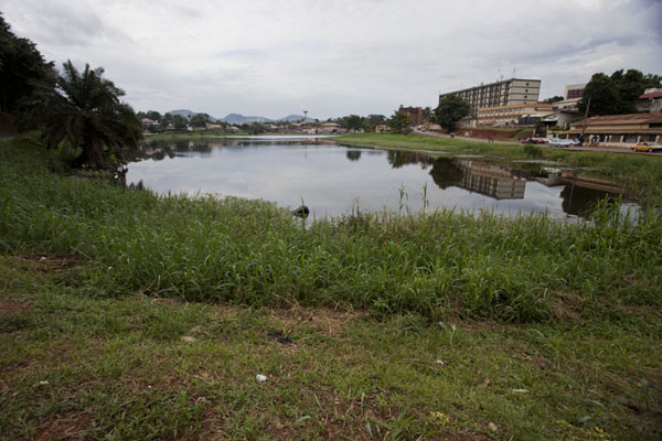 Picture of Cameroon (View of the Municipal lake from the southern side)