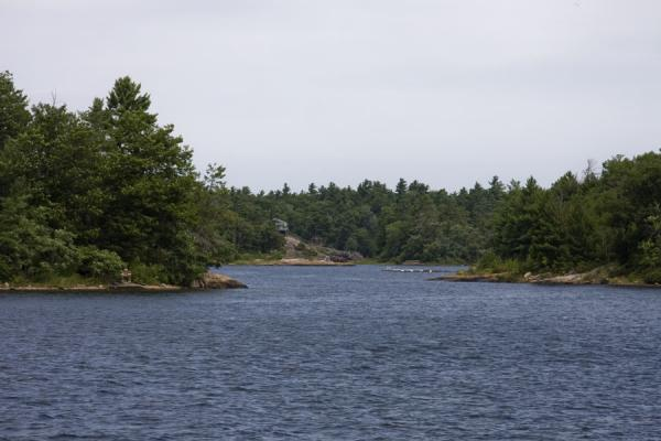 Beausoleil Island is surrounded by islands | Beausoleil Island | Canada