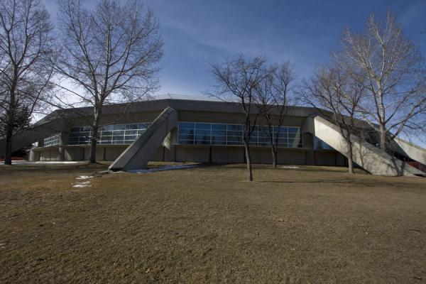 Picture of Olympic Oval at the end of winter