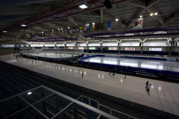 Interior of the Olympic Oval | Calgary Olympic Oval | Canada