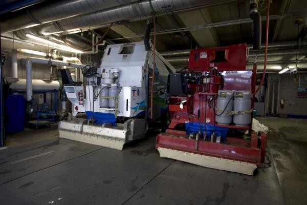 The Zambonis with which the ice of Calgary will be prepared | Calgary Olympic Oval | Canada