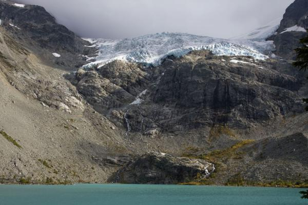 Southern side of the Third Joffre Lake dominated by Matier Glacier | Joffre Lakes | Canada