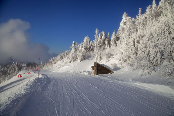 Photo de le Canada (One of the runs on Mont Tremblant skiing area)