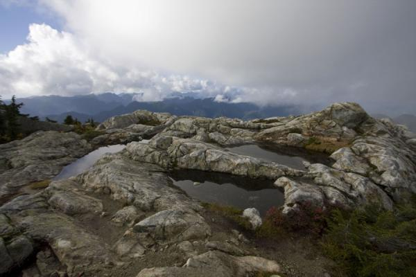 View from the top: the Third Pump Peak, the summit of Mount Seymour | Mount Seymour | Canada