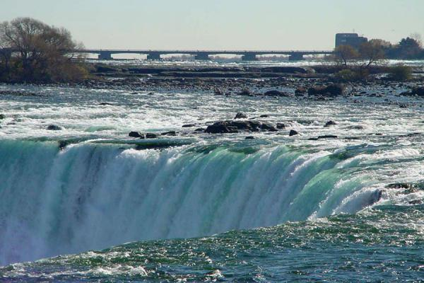 Foto van Just before the fall...Niagara watervallen - Canada