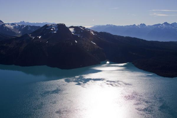 Picture of Panorama Ridge (Canada): View from Panorama Ridge: Garibaldi Lake and mountains