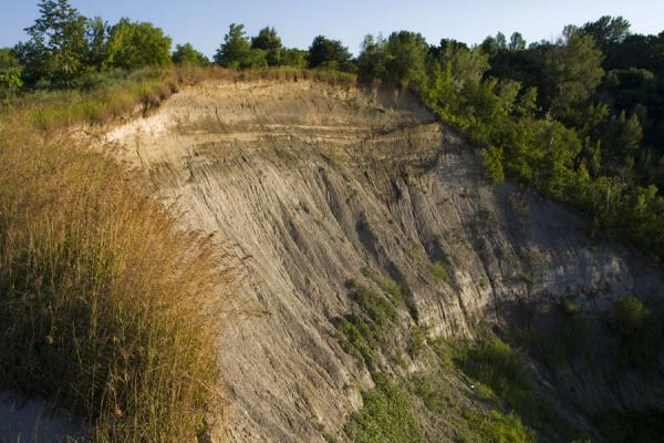 Picture of Scarborough Bluffs (Canada): Part of the Cathedral Bluffs seen from a vantage point