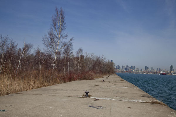 Picture of Quay at the east side of Centre Island with the city in the background - Canada - Americas