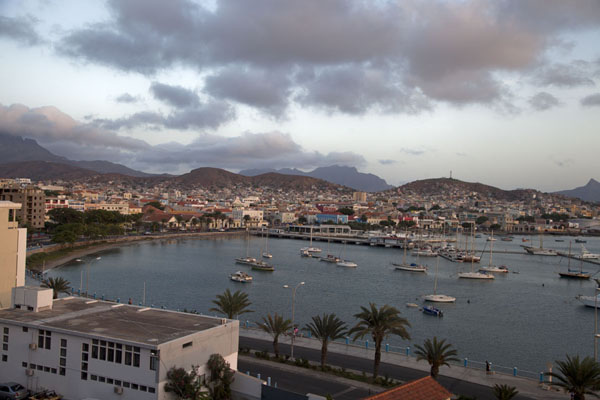 Picture of Looking over the harbour of MindeloMindelo - Cape Verde