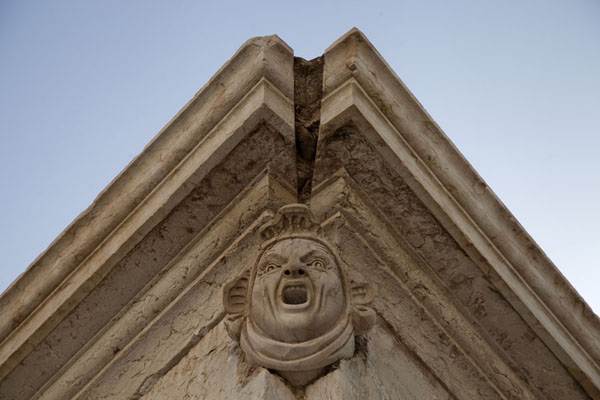 Picture of Close-up of a building from the colonial times in Mindelo - Cape Verde - Africa