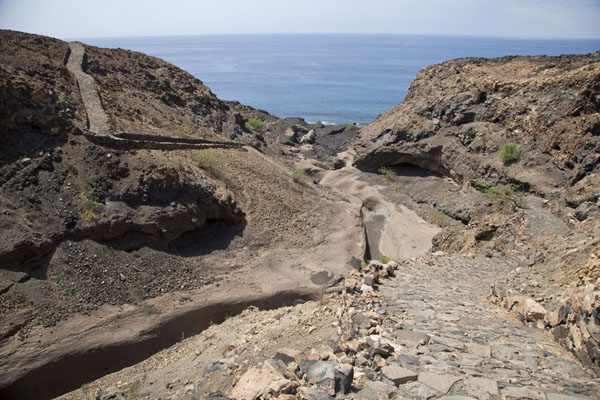 Picture of Tarrafal (Cape Verde): The trail between Monte Trigo and Tarrafal