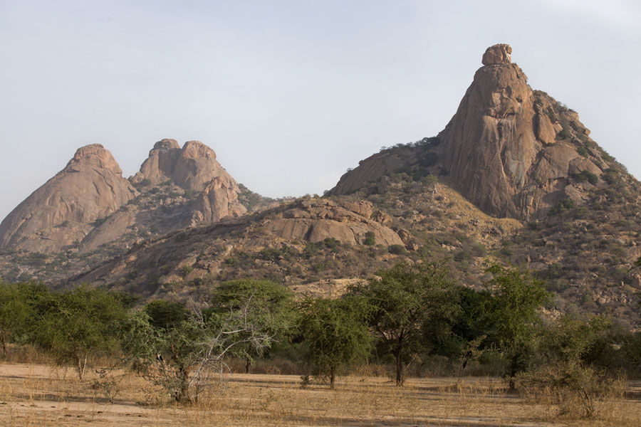 Picture of Mountains made of rocks at Ab Touyour